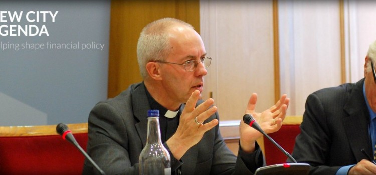 Archbishop on Banking Standards and Ethics
